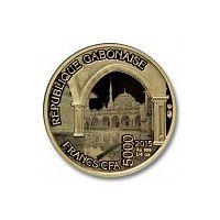 Аверс монеты «Сердце Чечни-15 (в оригинальной упаковке)»