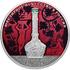 Монета Ювелирное искусство в России (цветная, 25 рублей)